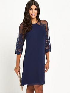 little-mistress-long-sleeve-mesh-dress