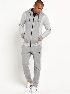 adidas-originals-melange-full-zip-mens-hoodie