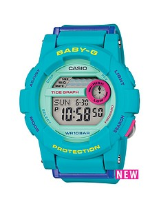 baby-g-digital-g-lide-turquoise-blue-strap-ladies-watch