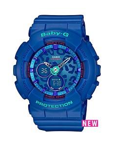 baby-g-casio-baby-g-leopard-face-blue-resin-strap-ladies-watch
