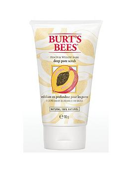 burts-bees-deep-pore-scrub-peach-amp-willow-bark-110g