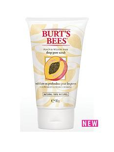 burts-bees-deep-pore-scrub-peach-ampamp-willow-bark-110g