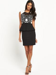 lipsy-lazer-peplum-dress