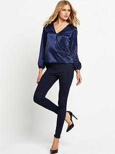 lipsy-wrap-satin-lace-blouse