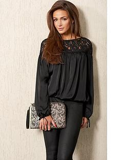 lipsy-lipsy-michelle-keegan-black-lace-peasant-top