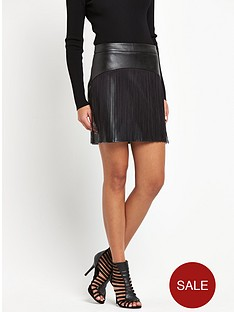 lipsy-by-fleur-east-faux-leathernbsptasseled-mini-skirt
