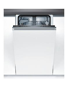 Bosch Serie 4 SPV40C10GB 9-Place Slimline Integrated Dishwasher with ActiveWater™ Technology - White Best Price, Cheapest Prices