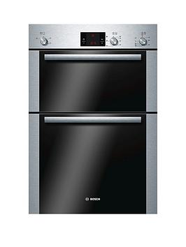 bosch-serie-6-hbm13b251b-built-in-electric-double-hot-air-oven-brushed-stainless-steel