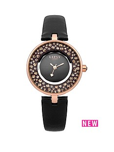 lipsy-lipsy-black-dial-with-black-leather-strap-ladies-watch