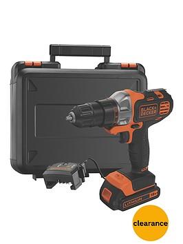 black-decker-mt218k-gb-18vnbspmultievonbspmulti-tool-with-drilldriver-head-and-kitbox