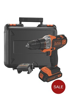 black-decker-mt218k-gb-18vnbspmultievonbspmulti-tool-with-drilldriver-head-and-kitboxnbspfree-prize-draw-entry