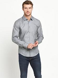 boss-green-long-sleeve-printed-shirt