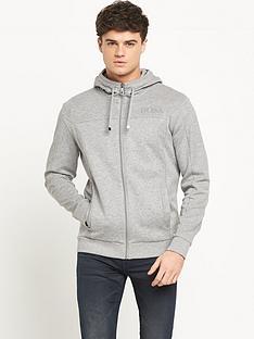 boss-green-full-zip-mens-hoodie-ndash-grey