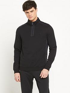 boss-green-tech-frac14-zip-mens-top