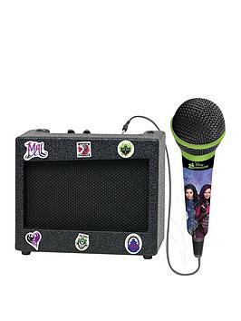 lexibook-descendants-portable-karaoke-set