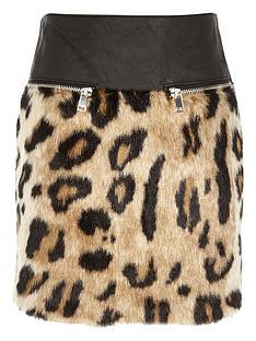 river-island-girls-leopardnbspfauxnbspfur-a-line-skirt