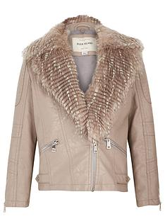 river-island-girls-leather-look-biker-jacket