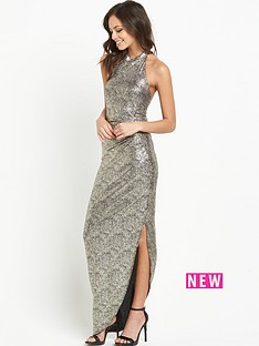 lipsy-highnbspneck-sequin-maxi-dress-with-side-split