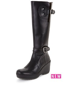 fly-london-mlea-leather-wedge-knee-boot