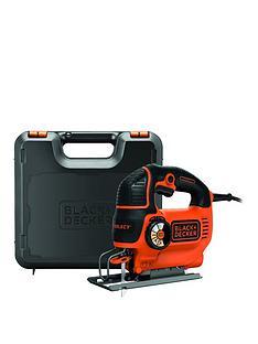 black-decker-ks801sek-gb-550-watt-automatic-speed-select-compact-jigsaw-with-kitbox-nbspfree-prize-draw-entry