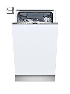 Neff S58T69X1GB 10-Place Slimline Dishwasher - White Best Price, Cheapest Prices
