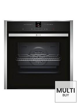 neff-b17cr32n1b-single-oven-stainless-steel