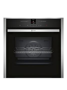 Image of Neff B17Cr32N1B Built-In Single Oven With Circotherm&Reg; - Stainless Steel