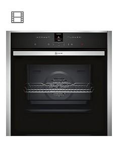 neff-b27cr22n1bnbspbuilt-in-electricnbspsingle-oven-with-circothermreg-stainless-steel