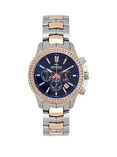 rotary-blue-multifunction-dial-amp-two-tone-bracelet-ladies-watch