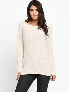 south-bardot-ribbed-jumpernbsp