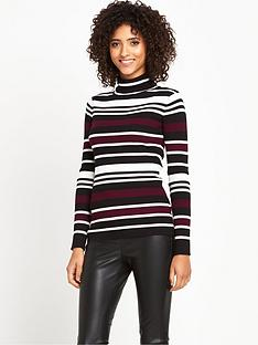 south-skinny-ribbed-stripe-jumpernbsp