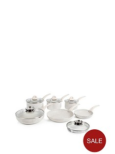 7-piece-stone-coated-pan-set--nbspwhite