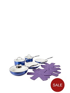 9-piece-ceramic-pro-metallic-pan-set-blue