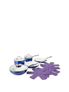 tower-9-piece-ceramic-pro-metallic-pan-set-blue