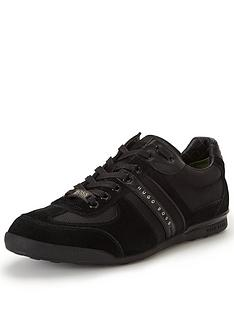 hugo-boss-green-akeennbsptrainers-black