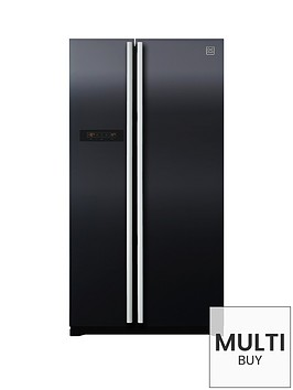 daewoo-frax22b3b-usa-style-fridge-freezer-black