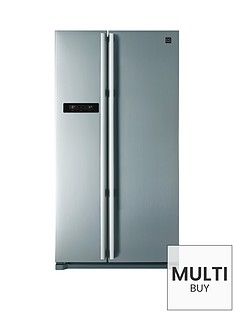 daewoo-frax22b3s-usa-style-fridge-freezer