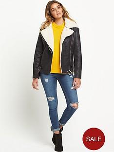 glamorous-pu-biker-jacket