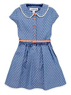 ladybird-girls-chambray-shirt-dress-with-belt