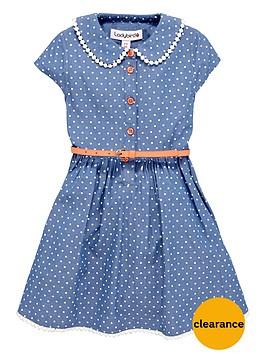 ladybird-girls-chambray-shirt-dress-with-belt