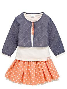 ladybird-girls-quilted-jacket-t-shirt-and-spot-skirt-set-3-piece-12-months-7-years