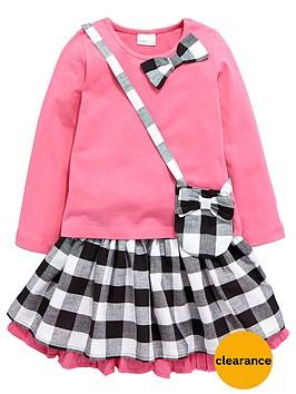 ladybird-girls-pretty-check-top-skirt-and-handbag-set-3-piece