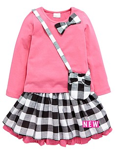 ladybird-toddler-girls-pretty-top-skirt-amp-handbag-set