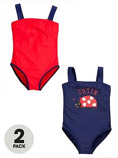 ladybird-girls-heritage-swimsuits-2-pack