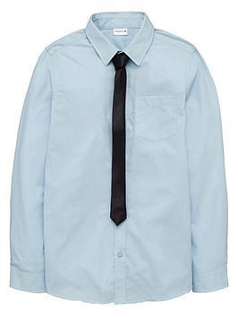 Ladybird Boys Occasion Wear Shirt and Tie Set (2 Piece)