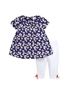 ladybird-baby-girls-floral-woven-dress-and-leggings-set