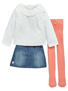 ladybird-girls-denim-skirt-schifflinbsptop-and-tights-set-3-piece