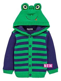 ladybird-baby-boys-knitted-animal-hood-cardigan