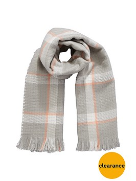 girls-reversible-check-scarf