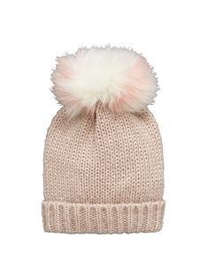 girls-2-fur-pom-pom-beanie-hat